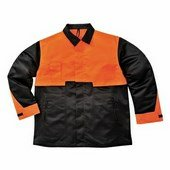 Favágó kabát Fekete/Narancs