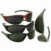 Freelux szemüveg, füstszínű, karcmentes polarizált látómező feke