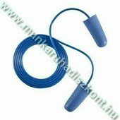 Earline kék, zsinóros, lekerekített hengeres füldugó