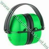 MAX 500 fluo zöld, jó láthatósági fültok, összecsukható