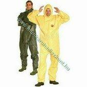 Tychem C sárga védőoverall - ipari munkaruha