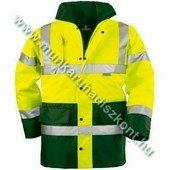 FLUO télikabát, sárga/zöld - jólláthatósági kabát