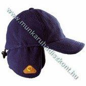 Covercap téli baseball, lehajtható fülrész, állítható, 250g/m2