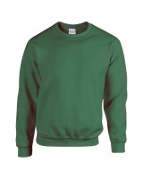 GILDAN KÖRNYAKÚ PULÓVER  / Heather Sport Dark Green