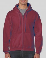 HEAVY BLEND™ ADULT FULL ZIP HOODED SWEATSHIRT /cre