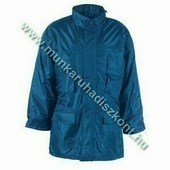 IRELAND kék télikabát, poliészter béléses