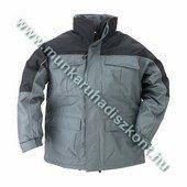 RIPSTOP szürke/fekete szakadás biztos kabát
