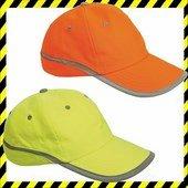 Jólláthatósági Fluo baseball sapka sárga, narancs TAHR