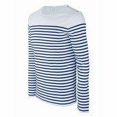 kariban férfi hosszú ujjú tengerész póló    / Csíkos Fehér