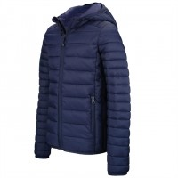 MENS LIGHTWEIGHT HOODED DOWN JACKET  nv