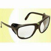 Luxavis szemüveg, cserélhető víztiszta lencse, oldalvédős szár