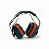 MAX 700 kék-piros fülvédő tok szabályozható, párnázott fej