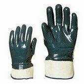 Nitril light Eco kétszer, kézháton is mártott kék nitril, merev