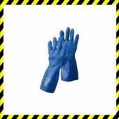 NIVALIS FH kesztyű PVC  kék  méret 10