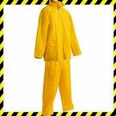 Carina vízálló esőruha öltöny, nadrág + kabát - SÁRGA