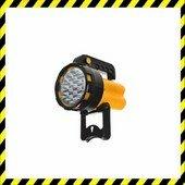 19 LED Utility lámpa fekete/sárga
