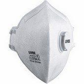 Uvex Classic FFP3 NR D paneles, szelepes részecskeszűrő maszk
