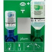 PLUM fali elsősegély szerelvény: 0,2l pH Neutral + 0,5l normál