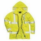 Jól láthatósági 4 az 1-ben kabát sárga
