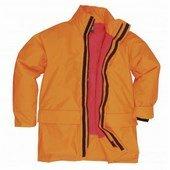 Lángmentes kabát Narancs