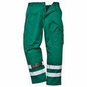 Iona biztonsági nadrág zöld