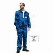 Savvédő derekas öltöny, 245 g/m? 65% poliészter, 35% pamut