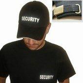 Biztonsági Őr Baseball sapka - Security sapka Legolcsóbb