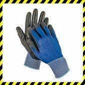 SMEW fekete kesztyű nylon kék/fekete 11