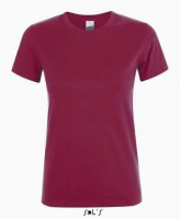 REGENT WOMEN ROUND-NECK T-SHIRT / Burgundy