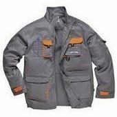 Texo kétszínű kabát szürke