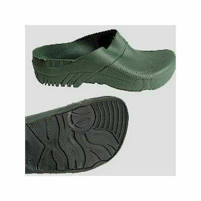 PVC PAPUCS zöld. Kerti papucs sár ellen