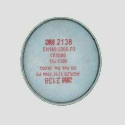 3M P3 részecskeszűrő betét+aktív szén - 3M 2138