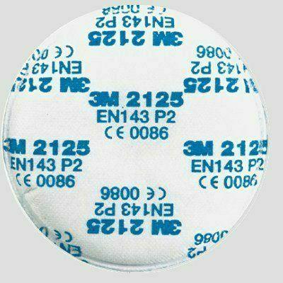 3M P2 részecskeszűrő betét + aktív szén (3M 2125)