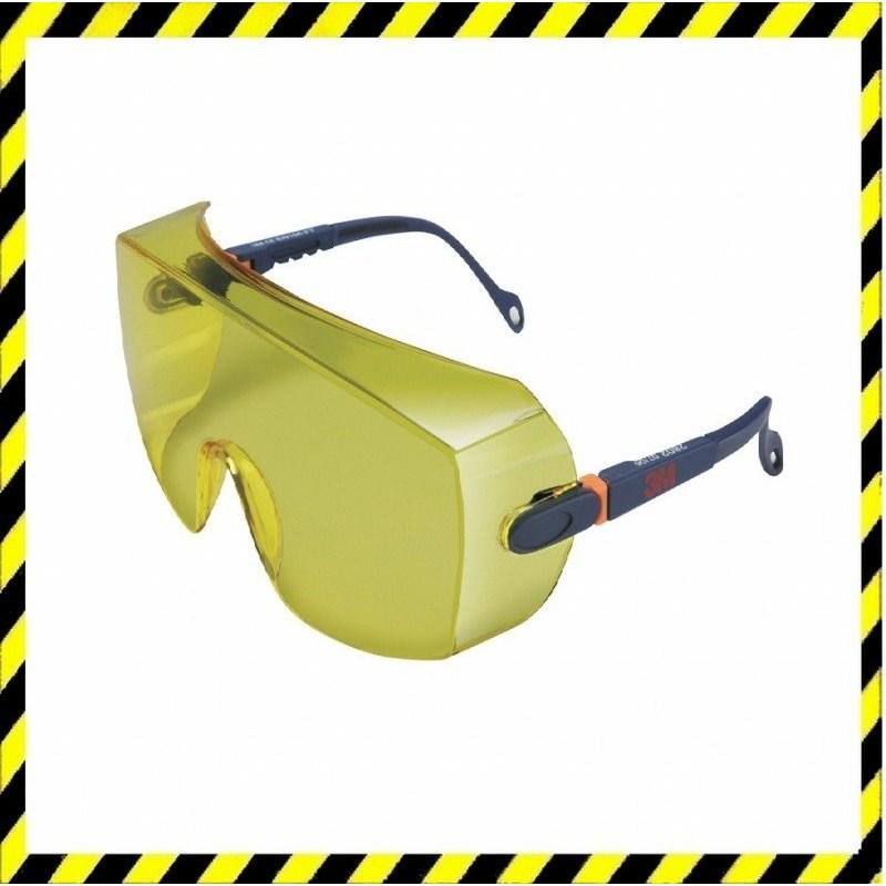 3M 2802 munkavédelmi szemüveg sárga biztonsági látómező f26aeb54a4