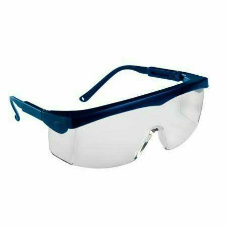 Pivolux szemüveg, kék keret, víztiszta látómező, állítható