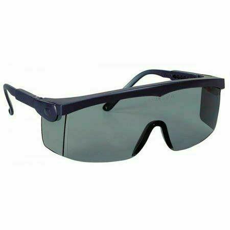 Pivolux szemüveg, kék keret, sötétített lencse, állítható