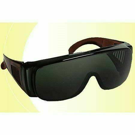 Visilux szemüveg, zöld lencse, napon végzett munkákhoz, 3-as fok