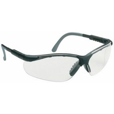 Miralux szemüveg, szürke/fekete keret, víztiszta látómező, állít