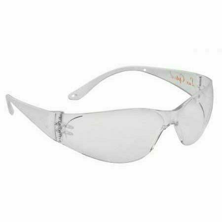 Pokelux szemüveg 2,4 mm vastag, ívelt polikarbonát, víztiszta