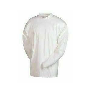 Fruit of the Loom Super Premium Long Sleeve T-hosszúujjú, fehér