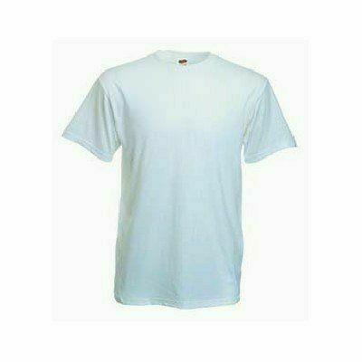 Fehér póló Fruit Heavy Cotton T pamut fehér - közkedvelt póló!