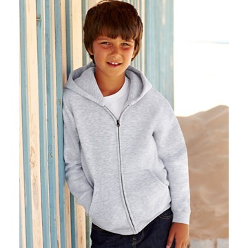 Fruit of the Loom Kids Hooded Sweat Jacket