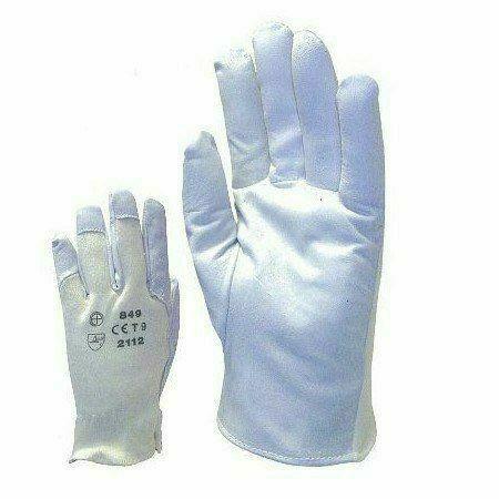 Színkecskebőr kesztyű, rugalmas kézháttal (11-es méretben)