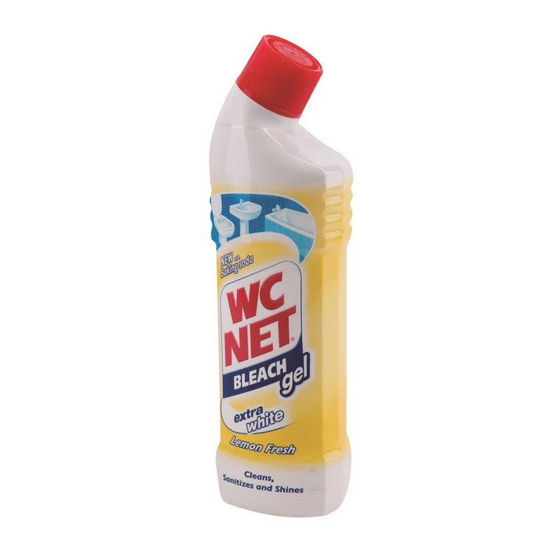 WC Net Bleach gel Lemon 750ml 12db