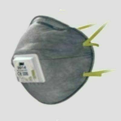 3M Szelepes, aktívszenes részecskeszűrő félálarc