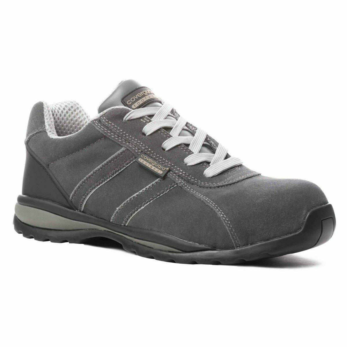 ANKERITE (S1P HRO CK) fémmentes velúrbőr cipő, 300°C-ig hőálló