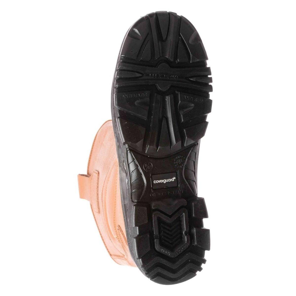 PYRITE (S3 CK) barna színbőr, fémmentes csizma, kompozit lábujjv