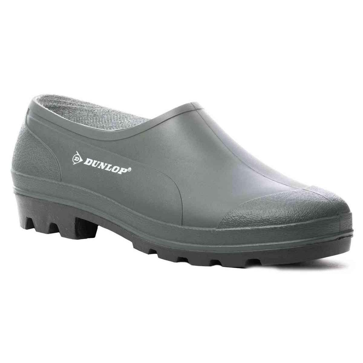 PVC cipő zoknira húzható víz- és lúgálló zöld Dunlop