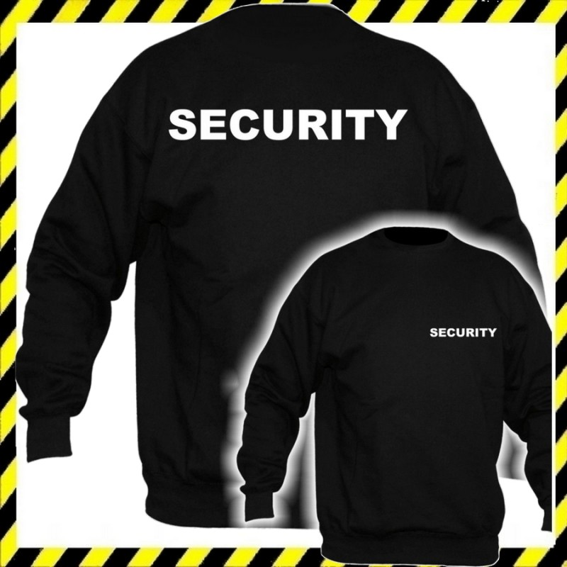 cdb953703c Biztonsági Őr pulóver - Security pulóver legolcsóbb ...