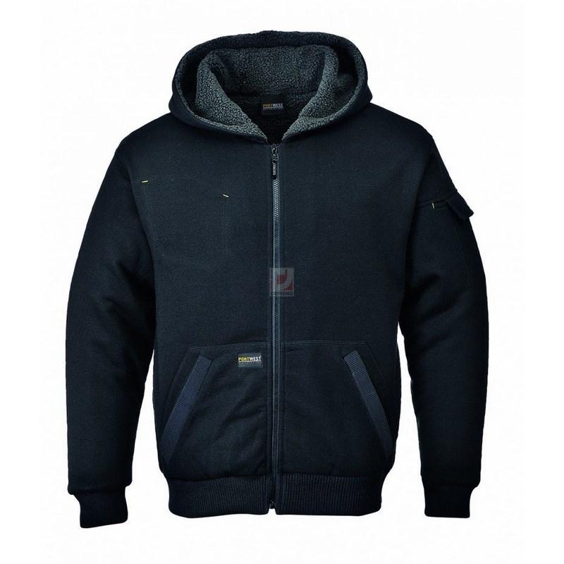 Pewter kabát fekete